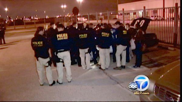 35 arrested in major drug, gang crackdown