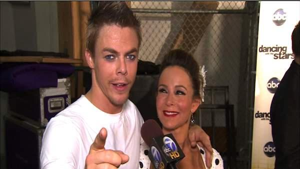 Jennifer Grey, Derek Hough talk week 6