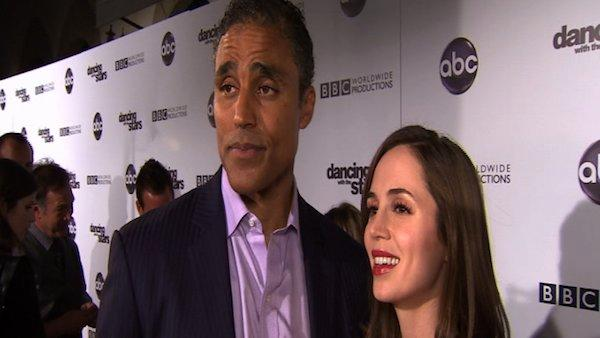 Rick Fox, girlfriend Eliza Dushku talk 'DWTS'