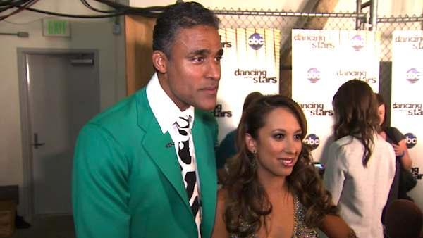 Rick Fox and Cheryl Burke talk after their 'Dancing With the Stars' elimination.