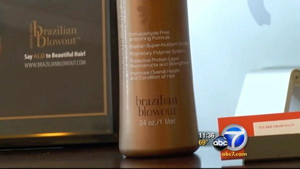 Calif. AG sues maker of 'Brazilian Blowout'