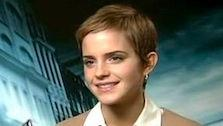 Emma Watson dishes on why she loves the new Harry Potter film and a talks about doing movies versus midterms. - Provided courtesy of KABC