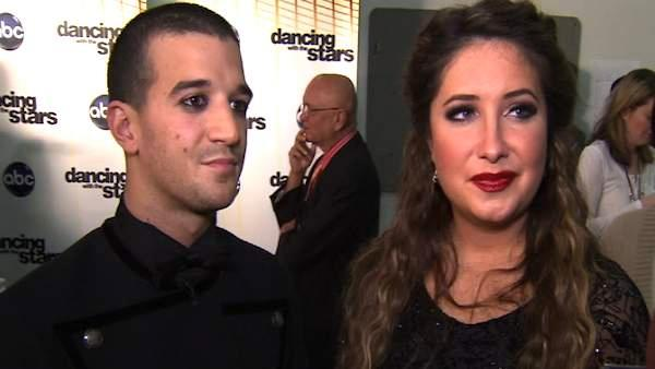 Bristol Palin and Mark Ballas talks week 9