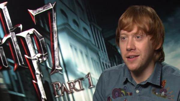 Rupert Grint's 'dark side' in 'Harry Potter'
