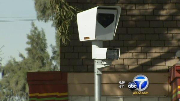 Loma Linda to remove red light cameras