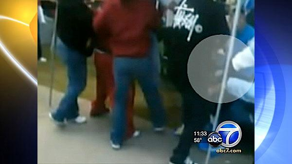 Another video of USC-UCLA brawl shows knife