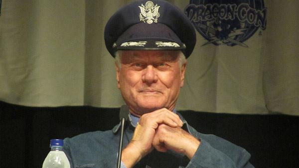 Larry Hagman appears at DragonCon 2010 on Sept. 4, 2010 in Atlanta, Georgia. - Provided courtesy of flickr.com/photos/53065137@N07