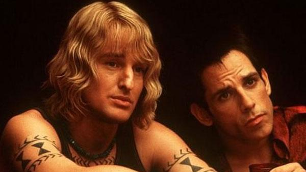 Owen Wilson and Ben Stiller in a production still of the 2001 film Zoolander. - Provided courtesy of  Village Roadshow Pictures