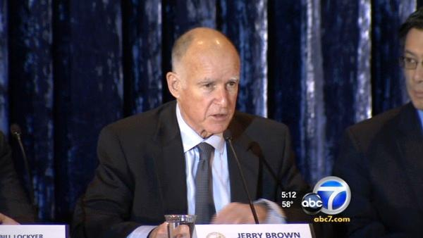 Brown holds education briefing at UCLA