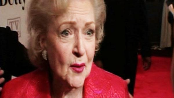 Betty White on Regis Philbin's retirement
