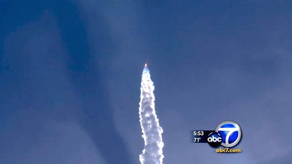 Delta IV rocket launches from Vandenberg