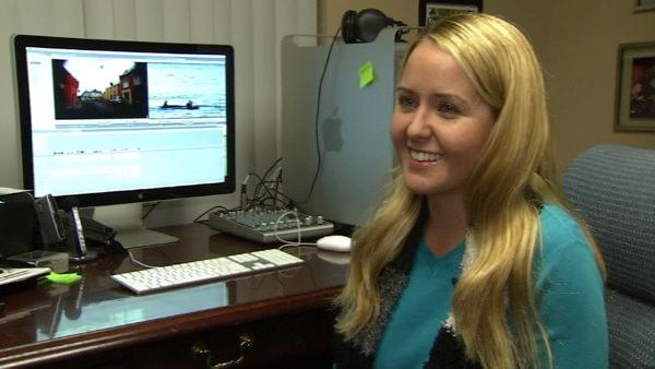 Orange County resident Coley Pittman smiles every time she looks at video of her recent trip to Dingle, Ireland, where she reunited with Fungi, a wild dolphin, after five years.