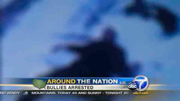 Brutal bullying near Philly caught on tape