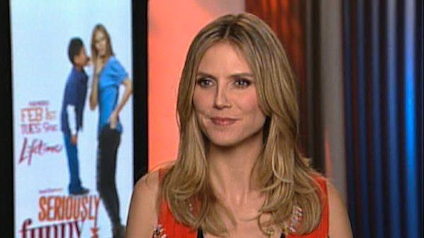 Heidi Klum talks 'Seriously Funny Kids'