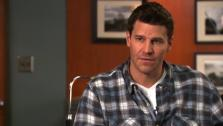 Bones star David Boreanaz spills on the shows success, Booth and Bones together, and gives us a backstage pass. - Provided courtesy of KABC