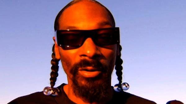 (Pictured: Snoop Dogg appears in a video for the Zynga computer game 'Mafia Wars Las Vegas'.)