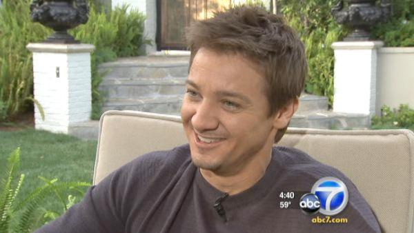 Renner talks about his 2nd Oscar nomination