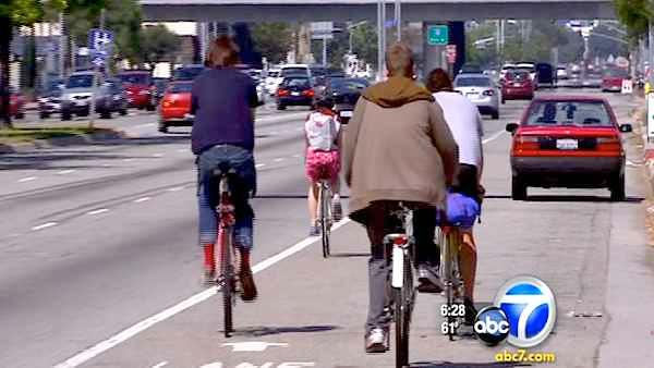 L.A. announces ambitious bikeway project