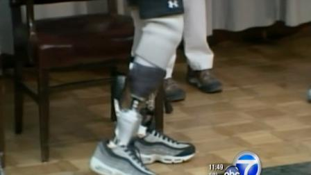 The prosthetic is the first bionic lower-leg system to restore muscle function in both the foot and ankle.