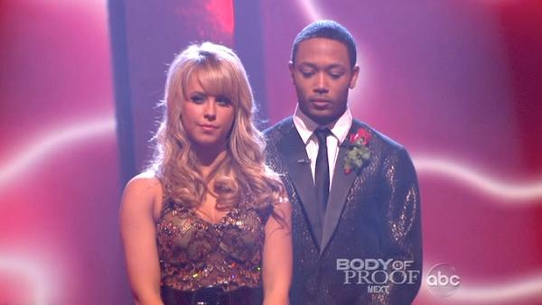 Romeo and his partner Chelsie Hightower await possible elimination. The couple received 23 out of 30 from the judges for their Quickstep on week 2 of 'Dancing With The Stars' on Monday, March 28, 2011.