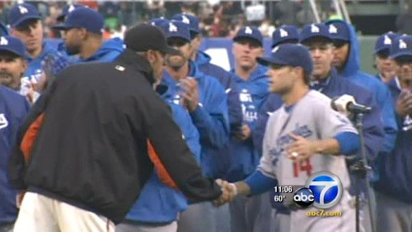 SF tightens security at Dodgers, Giants game