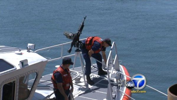 Napolitano, mayor look at security at LA port