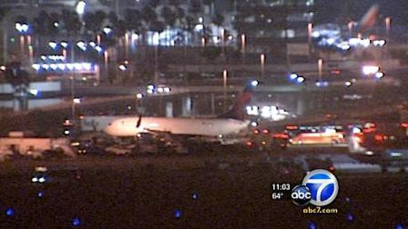 A plane carrying the Los Angeles Angels of Anaheim reportedly had to make an emergency landing at Los Angeles International Airport on Wednesday, June 1, 2011.