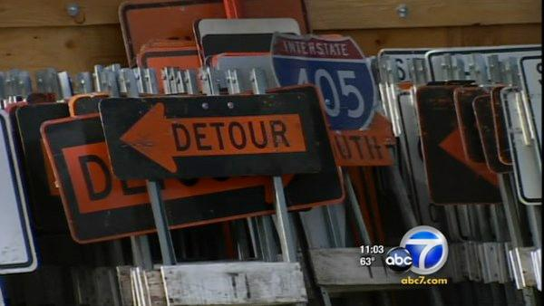 Drivers warned to stay away from 405 Freeway