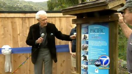 Bob Barker comes to the rescue, helping the Pacific Marine Mammal Center in a major way.