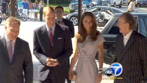 Prince William, Kate head to SB polo match