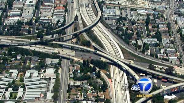 Carmageddon shortcuts on L.A.'s Westside