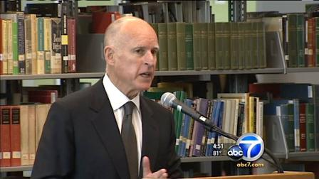 Governor Brown signed a controversial bill Monday allowing students in the U.S. illegally to receive some scholarships.