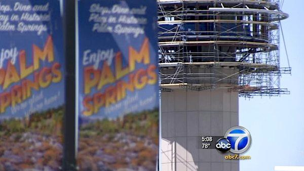 Palm Springs new airport tower put on hold