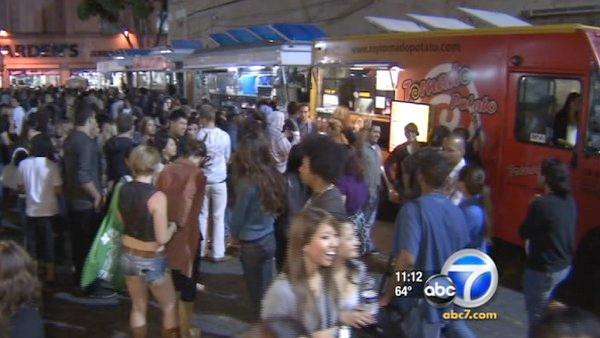 LA Art Walk bans food trucks, vendors
