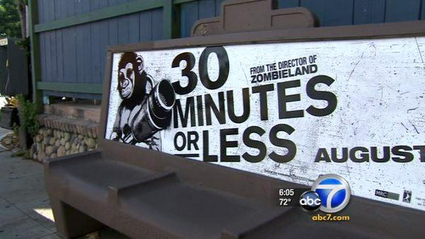 Benches disappear at Los Angeles bus stops