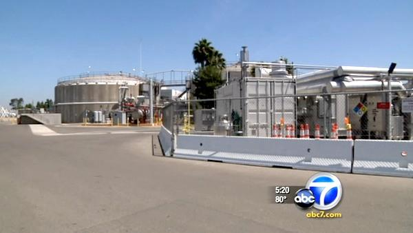 Sewage gas station in OC may be world's first