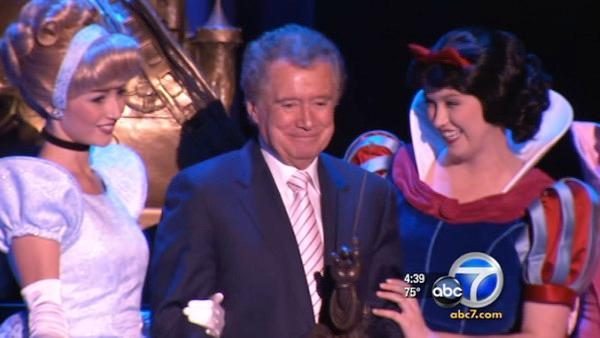 Regis Philbin honored as Disney Legend
