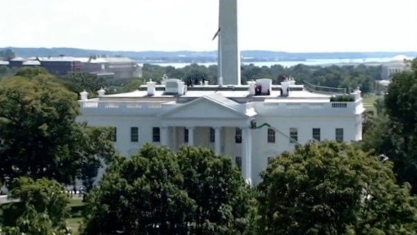 East Coast earthquake shakes White House cam