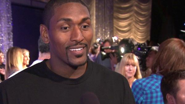 Ron Artest talks about joining 'DWTS'