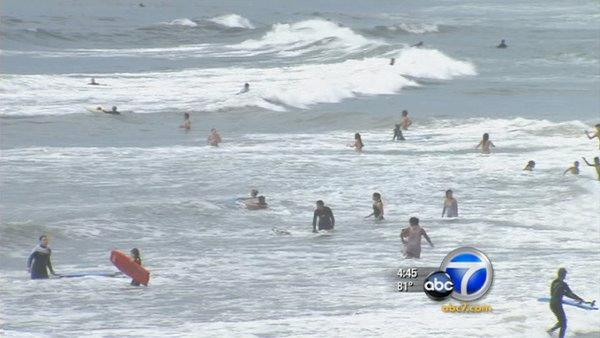 Rip currents may be to blame for 2 deaths