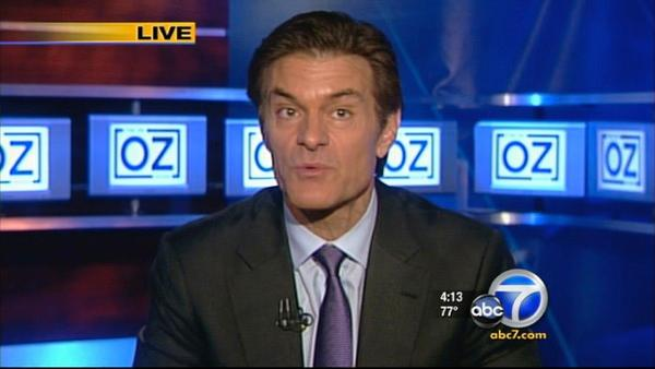 Dr. Oz answers questions from ABC7 viewers