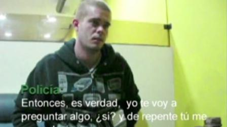 Joran van der Sloot appears in this undated still of video footage in which apparently admitted that he killed a young woman in his Lima, Peru hotel room.