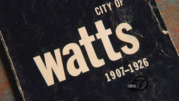 Watts: Hub of commerce, universe