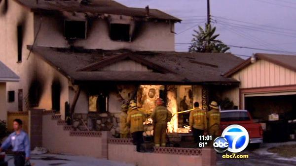 Boy, 4, dies from Compton house fire injuries