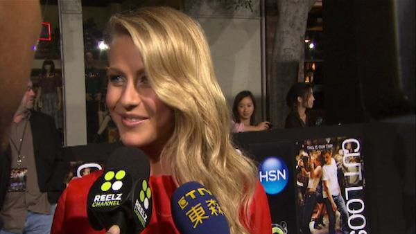Julianne Hough promises she didn't 'mess up' 'Footloose' remake