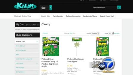 Candy shaped liked marijuana leaves have parents and anti-drug activists fuming. There are calls pull the candy from stores.