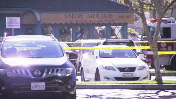 Authorities responded to a report of shots fired at Salon Meritage on the 500 block of Pacific Coast Highway at 1:21 p.m.  Eight people were killed and one critically injured.