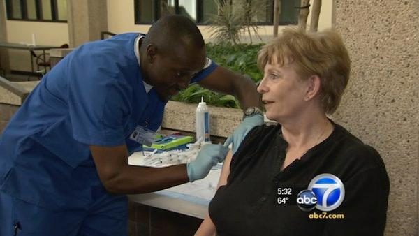 Flu season arrives in LA; shots encouraged