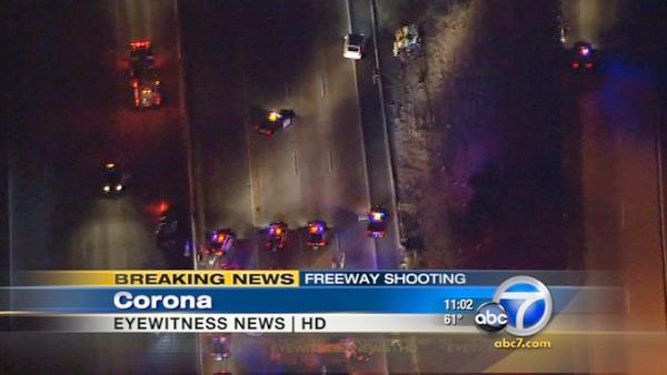CHP shooting closes 91 Freeway lanes