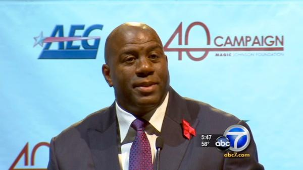 20-yr anniv. of 'Magic' Johnson announcing HIV